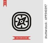 compass vector icon...