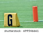 Touchdown Goal Marker On...