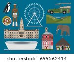 south africa illustration ... | Shutterstock .eps vector #699562414