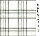 plaid green pattern...   Shutterstock .eps vector #699574327