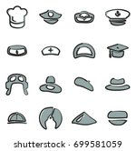 Conductor hat free vector art 2427 free downloads hat icons set 1 freehand 2 color pronofoot35fo Gallery