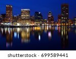 baltimore  md  usa march 28 ... | Shutterstock . vector #699589441