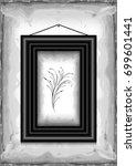 illustration of frame on grunge ... | Shutterstock . vector #699601441