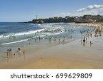 Beach Of Biarritz  France