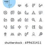 set of business people concept...   Shutterstock .eps vector #699631411
