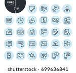 collection of premium quality... | Shutterstock .eps vector #699636841