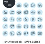 collection of premium quality... | Shutterstock .eps vector #699636865