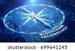 block chain network concept  ... | Shutterstock . vector #699641245