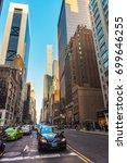 new york  usa   may 6  2015 ... | Shutterstock . vector #699646255