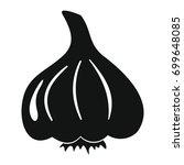 garlic vector illustration... | Shutterstock .eps vector #699648085