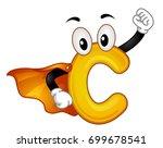 illustration of a vitamin c... | Shutterstock .eps vector #699678541
