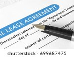 lease agreement | Shutterstock . vector #699687475