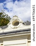 Small photo of Baroque architectural ornament detail from Laxenburg castle (18th/19th century), Austria