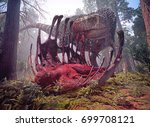 A 3d Rendering Of Tyrannosauru...