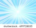 blue light ray vector   Shutterstock .eps vector #699728035