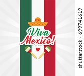 mexico independence day  | Shutterstock .eps vector #699741619