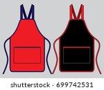 apron design vector   Shutterstock .eps vector #699742531