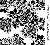 abstract elegance seamless...   Shutterstock .eps vector #699744631