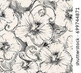 seamless background pattern... | Shutterstock .eps vector #699744871