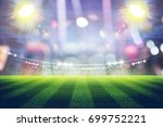 football stadium  3d rendering | Shutterstock . vector #699752221