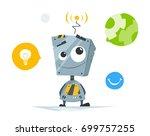color vector illustration of... | Shutterstock .eps vector #699757255