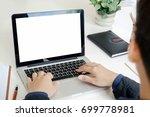businessman at work. close up... | Shutterstock . vector #699778981