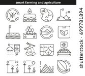 smart farming and agriculture... | Shutterstock .eps vector #699781894