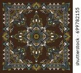 paisley bandana print | Shutterstock .eps vector #699782155