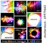 Rainbow Backgrounds Collection...