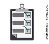 checklist on clipboard icon...