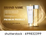 gold essence  golden... | Shutterstock .eps vector #699832399