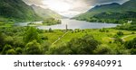 glenfinnan monument  at the... | Shutterstock . vector #699840991
