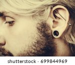 Stretched Lobe Piercing  Grung...