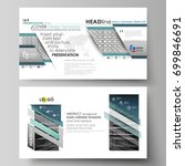 business templates in hd format ... | Shutterstock .eps vector #699846691