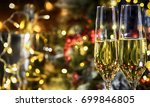 christmas rustic background... | Shutterstock . vector #699846805
