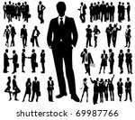business people | Shutterstock .eps vector #69987766