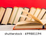education and wisdom concept  ... | Shutterstock . vector #699881194