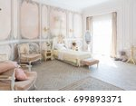 luxurious expensive interior... | Shutterstock . vector #699893371