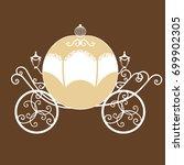 Decorative Brougham. Wedding...