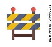 barrier | Shutterstock .eps vector #699903241