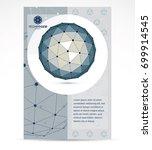 computer technologies creative... | Shutterstock .eps vector #699914545