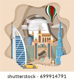 travel infographic  ... | Shutterstock .eps vector #699914791