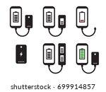 power bank icons set   Shutterstock .eps vector #699914857
