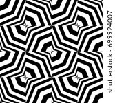 seamless pattern with black... | Shutterstock .eps vector #699924007