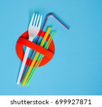 no use symbol in red with... | Shutterstock . vector #699927871