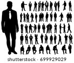 vector  isolated  a collection... | Shutterstock .eps vector #699929029