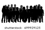 vector  isolated  a collection... | Shutterstock .eps vector #699929125