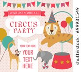 happy birthday invitation for... | Shutterstock .eps vector #699931549