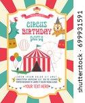 happy birthday invitation for... | Shutterstock .eps vector #699931591