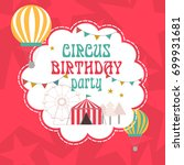 happy birthday invitation for... | Shutterstock .eps vector #699931681